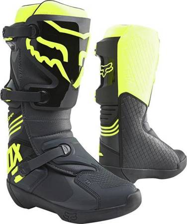 BUTY FOX COMP BLACK/YELLOW 2021