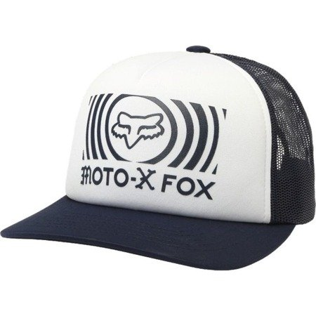 Czapka z daszkiem FOX LADY GOOD TIMER TRUCKER White OS 2018