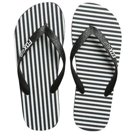 Japonki FOX LADY JAIL BREAK FLIP FLOP Black/White 2018