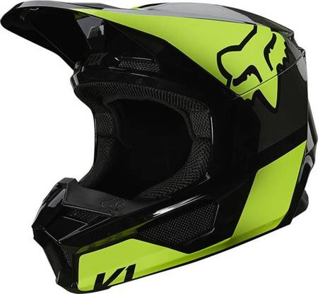 KASK FOX JUNIOR V-1 REVN YELLOW YL