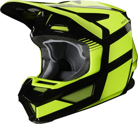 Kask FOX V2 HAYL Flo Yellow 2020