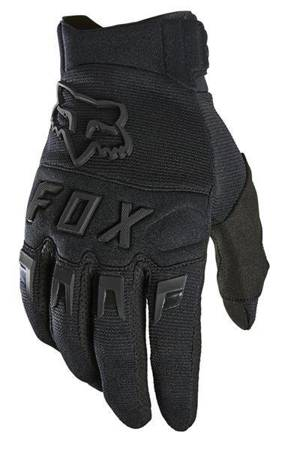 RĘKAWICE FOX DIRTPAW BLACK/BLACK 2021