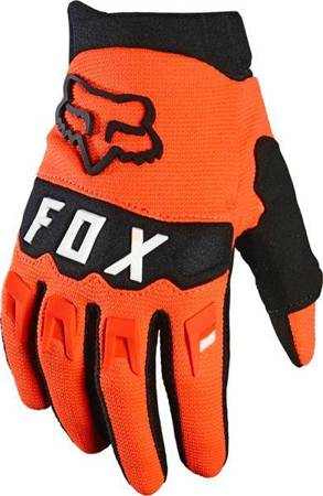 RĘKAWICE FOX JUNIOR DIRTPAW ORANGE 2021