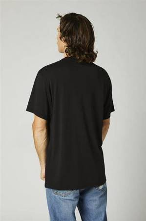 T-SHIRT FOX BACKBONE TECH BLACK