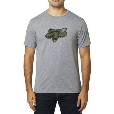 T-SHIRT FOX PREDATOR TECH HEATHER GRAPHITE