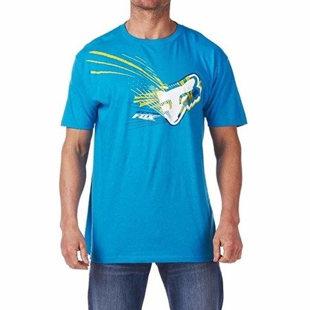 T-shirt FOX SPILLAGE ELECTRIC Blue